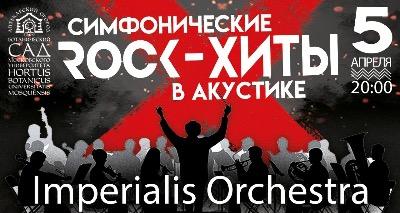 Симфонические рок-хиты в акустике. Imperialis Orchestra. Концерт в оранжерее, фото
