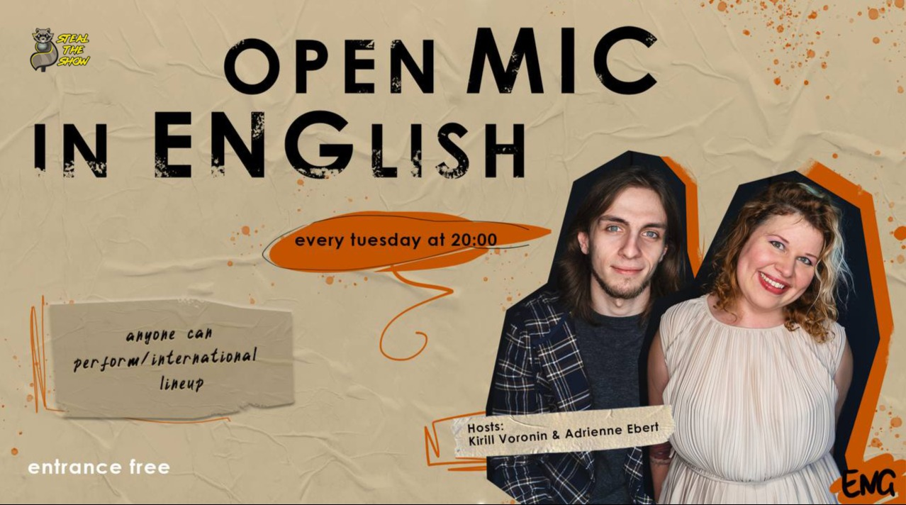 English Stand-up Open Mic